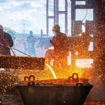 Λάδια για βιομηχανίες μετάλλων